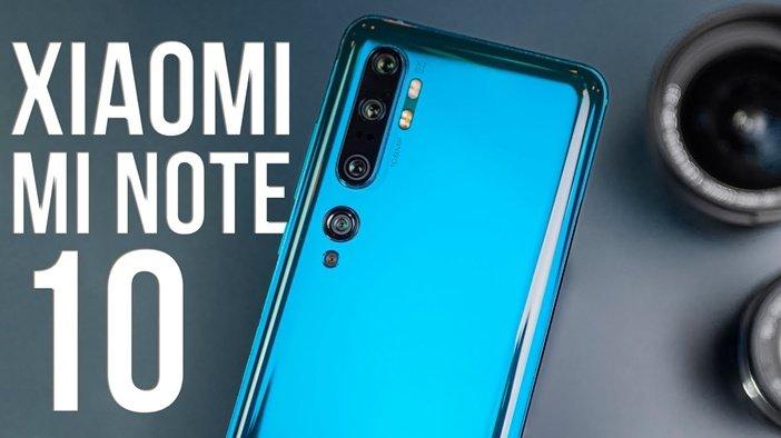 Камеры Mi Note 10