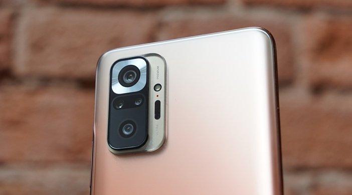 Блок камер Redmi Note 10 Pro от Xiaomi