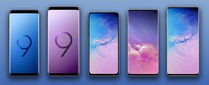 Уменьшение рамок во флагманах Samsung