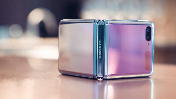 Блестящий корпус Galaxy Z Flip