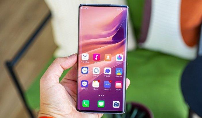 Vivo NEX 3 - первый смартфон с экраном-водопадом