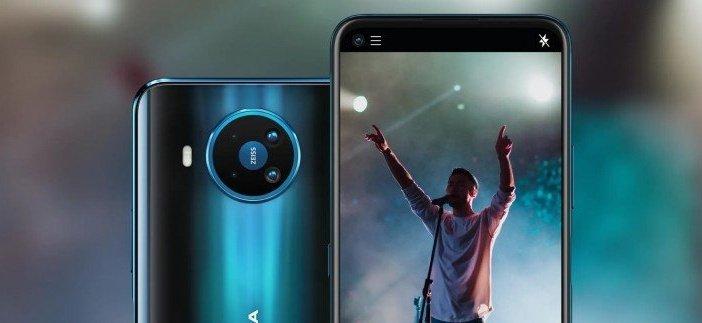 Камеры Zeiss в Nokia 8.3