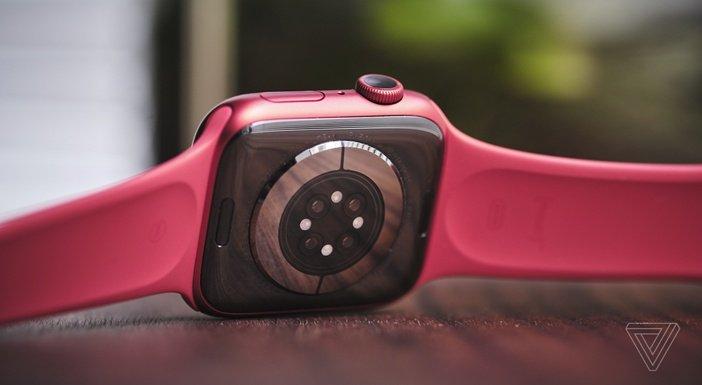 Обратная сторона Apple Watch 6