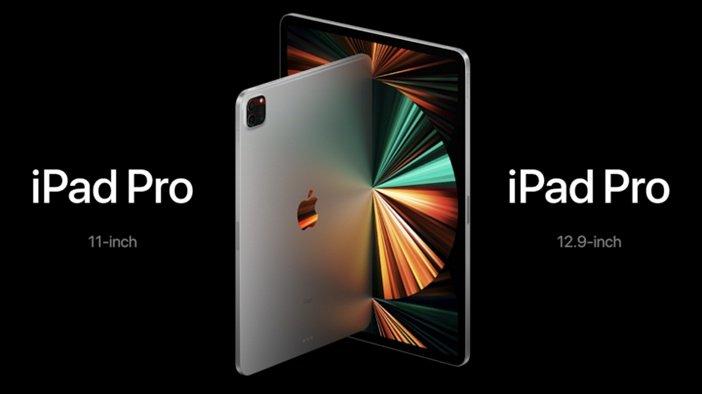 Новые iPad Pro 2021 рядом друг с другом