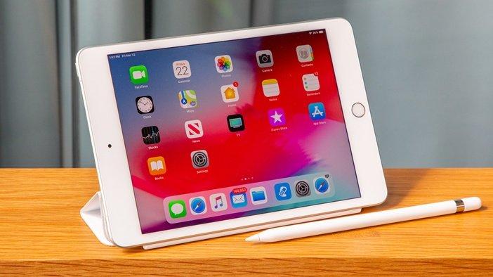 iPad Mini пятого поколения со стилусом