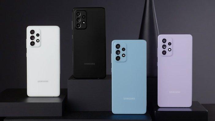 Варианты цветового оформления Galaxy A52