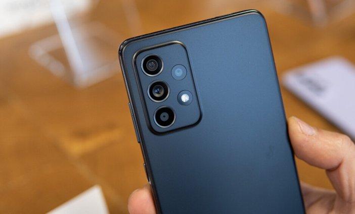 Задняя камера Galaxy A52