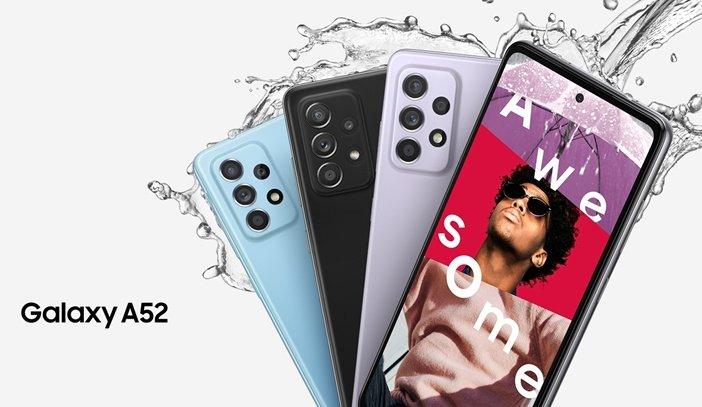 Защита от влаги в Galaxy A52