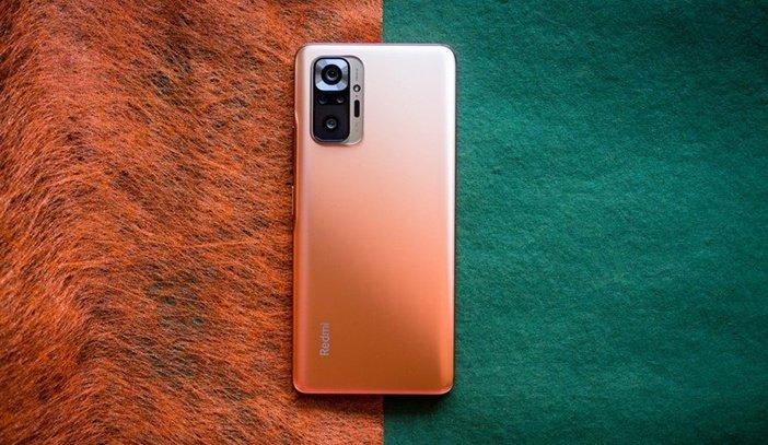 Redmi Note 10 Pro в оранжевом цвете