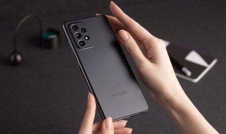 Galaxy A52 тёмная версия